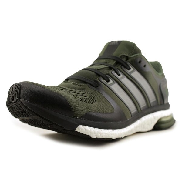 929ca0127cfb0 Shop Adidas Adistar Boost ESM Men Round Toe Synthetic Green Running ...