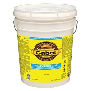 Cabot 05-2101 Wood Protector Clear, 5 Gallon