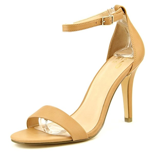 Mix No 6 Lina Women Open Toe Synthetic Tan Sandals