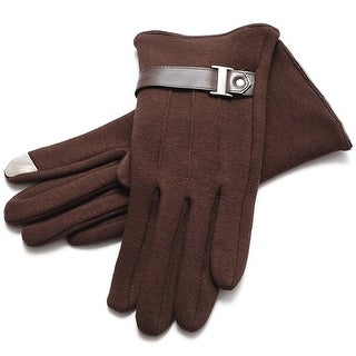 Mad Style Exec Texting Gloves - Brown