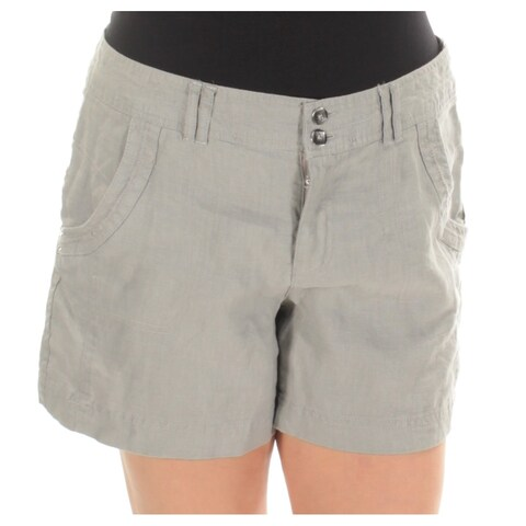 INC Womens Gray Short Size: 12