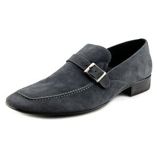 Maldini Luther Men Square Toe Leather Gray Loafer