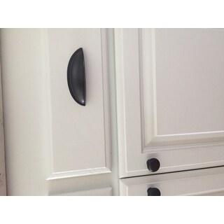 Shop GlideRite 2.875 inch Oil Rubbed Bronze Cabinet Bin ...