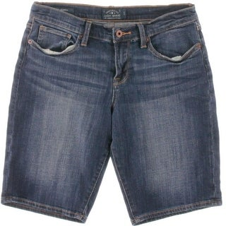 Lucky Brand Womens The Bermuda Denim Stretch Bermuda, Walking Shorts