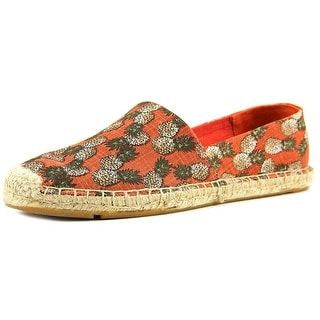 Lucky Brand Tashii Women Round Toe Canvas Red Espadrille