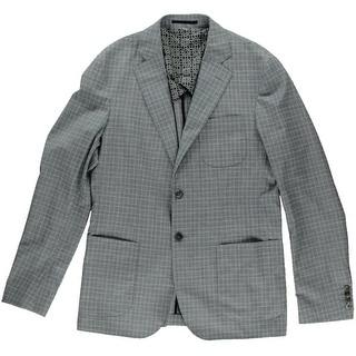 Hardy Amies Mens Wool Blend Brinsley Fit Sportcoat - 40L