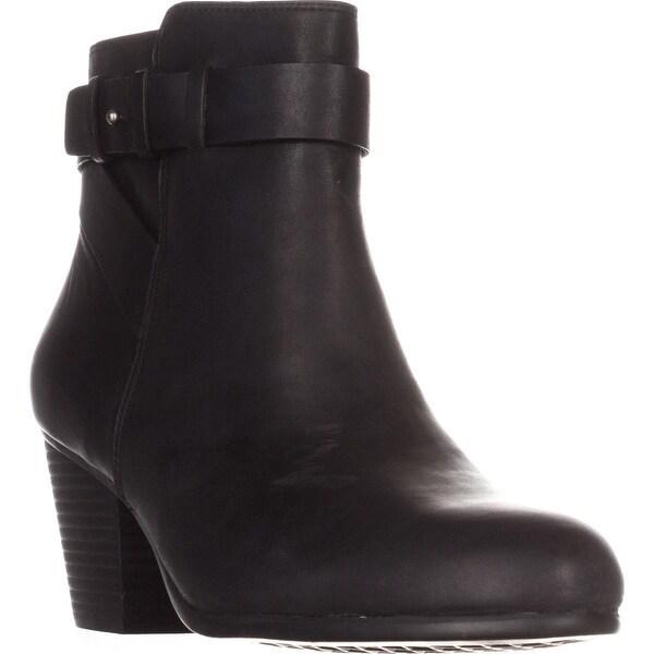 Aerosoles Inevitable Comfort Ankle Boots, Black