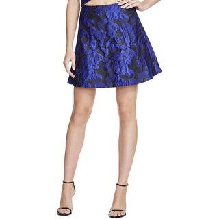 Lucy Paris Womens A-Line Skirt Brocade Shimmer https://ak1.ostkcdn.com/images/products/is/images/direct/d84772a76988d807aa85176b6295bf153a3bbc6a/Lucy-Paris-Womens-A-Line-Skirt-Brocade-Shimmer.jpg?impolicy=medium