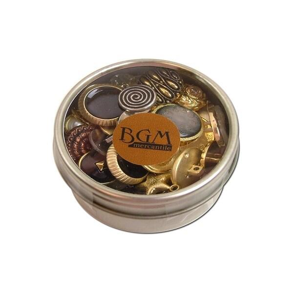 Buttons Galore Button Tin Mix Antique