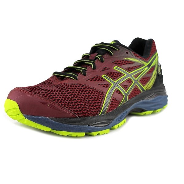 Asics Gel-Cumulus 18 Men Round Toe Synthetic Pink Running Shoe