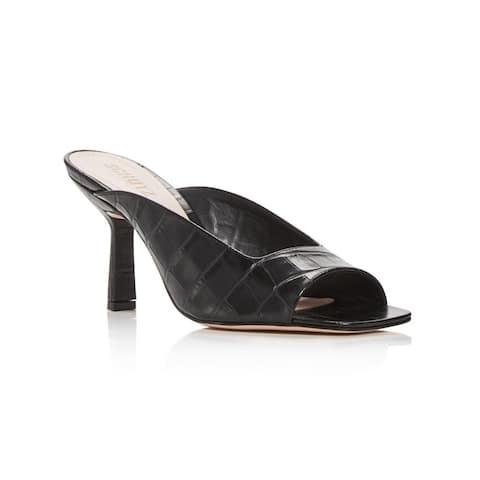 Schutz Women's Agape Slide High Heel Sandals Black