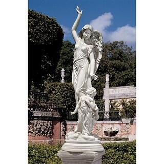 QUEEN OF ANGELS GUARDIAN ANGEL STATUE DESIGN TOSCANO queen of angels