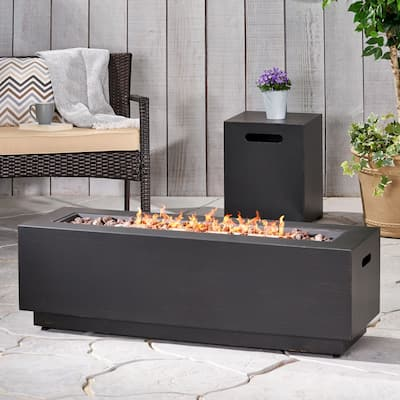 Wellington Outdoor Iron Fire Pit by Christopher Knight Home
