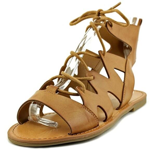Indigo Rd. Bardot Women Open Toe Synthetic Brown Gladiator Sandal