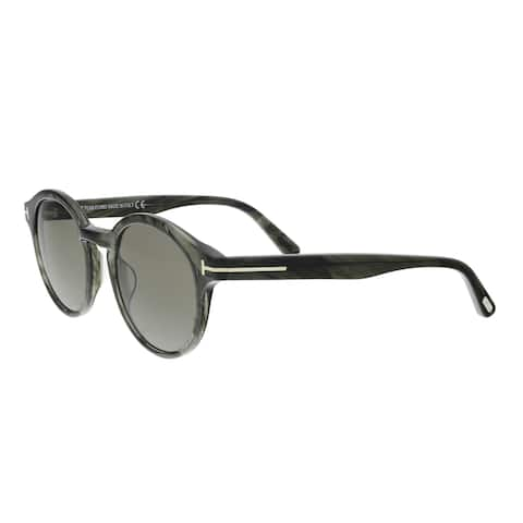 5e1861ada2e14 Tom Ford FT0400 S 20B LUCHO Grey Round Sunglasses - 49-21-145.  99.99.   19.00 OFF