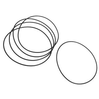 5 Pieces Black Rubber O Ring Oil Seal Gaskets for Bosch 180 Angle Grinder