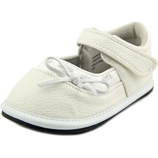 Jack and Lily My Shoes Infant Round Toe Leather White Mary Janes