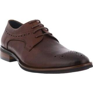 Spring Step Men's Charlie Oxford Brown Leather