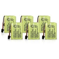 Replacement Battery for Uniden BT909 Battery Model (6 Pack)