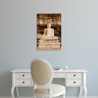 Easy Art Prints Gavriel Jecan's 'Buddha At Ayutthaya' Premium Canvas Art