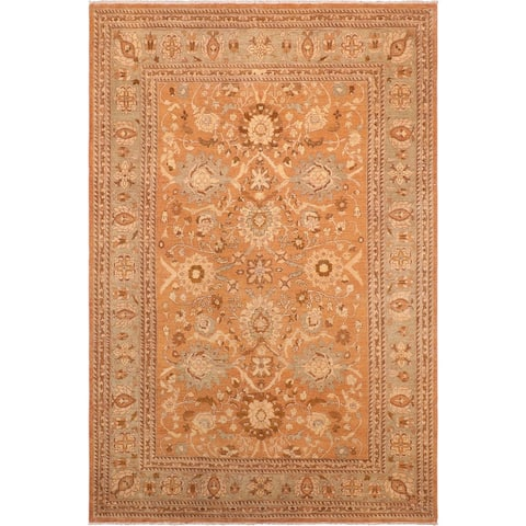 """Boho Chic Ziegler Penni Hand Knotted Area Rug -7'10"""" x 10'4"""" - 7 ft. 10 in. X 10 ft. 4 in."""