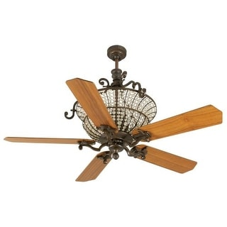 """Craftmade K10876 Cortana 52"""" 5 Blade DC Indoor Ceiling Fan - Blades and Remote Included"""