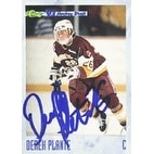 Derek Plante MinnesotaDuluth  Buffalo Sabres 1993 Classic Draft Picks Autographed Card  Rookie Card  This item come