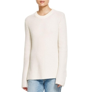 Theory Womens Barda Pullover Sweater Wool Ribbed