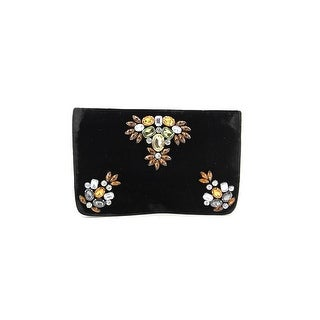 Shiraleah Sala Women Canvas Clutch NWT - Black