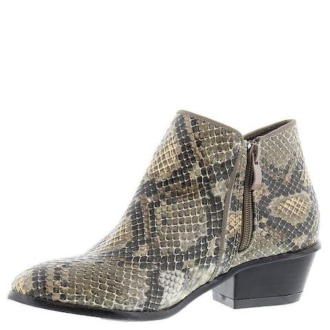 Masseys Womens Addie Almond Toe Ankle Fashion Boots