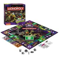 Monopoly Teenage Mutant Ninja Turtles Board Game - multi