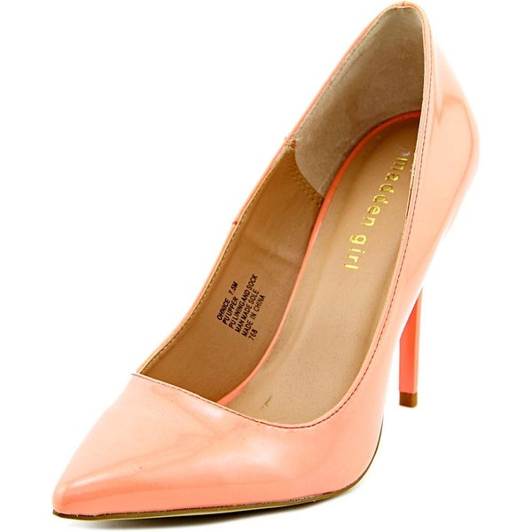 Madden Girl Ohnice   Pointed Toe Synthetic  Heels