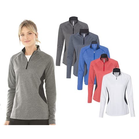 Adidas Women's Lightweight Quarter Zip Pullover, Assorted Colors