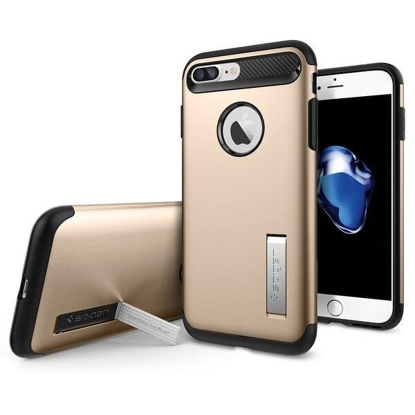 Spigen Slim Armor Case iPhone 7 Plus in Champagne Gold