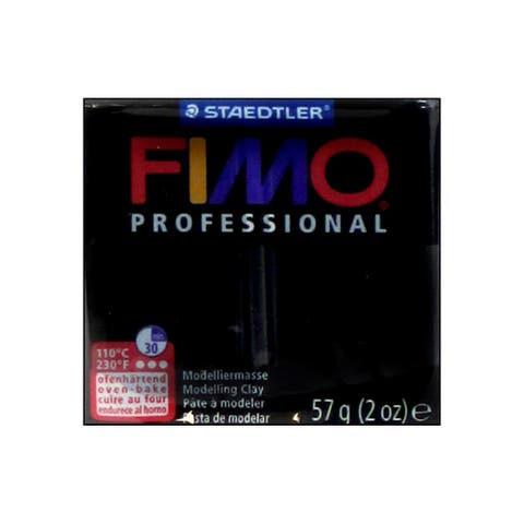 Fimo Professional Clay 57gm Black