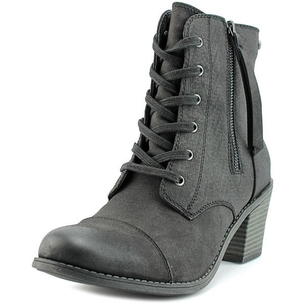 Roxy Calico Round Toe Synthetic Ankle Boot