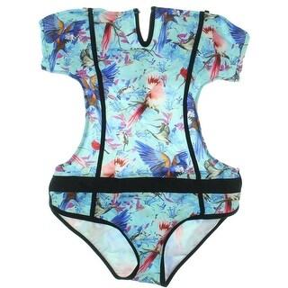 Fanssie Womens Strapless Bandeau Monokini Swimsuit - 44