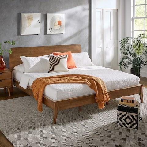 Clark Wood Platform Bed by iNSPIRE Q Modern