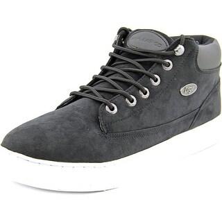 Lugz Gypsum TS Men Round Toe Canvas Black Sneakers
