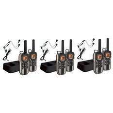 Uniden GMR4088-2CKHS (6-Pack) Two Way Radio w/ USB Adapter Dual Charging Cradle