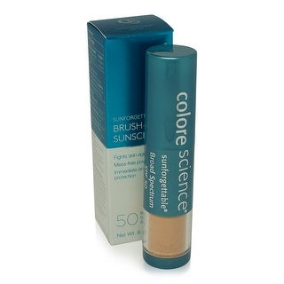 Colorescience Pro Sunforgettable Mineral Powder Brush-Medium SPF 50 Matte 0.21 oz.
