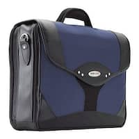 "Mobile Edge Men's Premium Briefcase- 15.6""PC/17""Mac Navy/Black - US Men's One Size (Size None)"