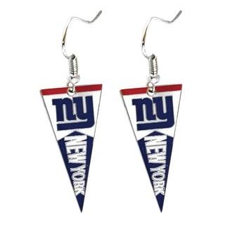 New York Giants NFL Pennant Dangle Earring