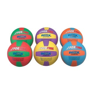 SportimeMax Volleyballs, Set of 6