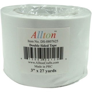 """Double Sided Adhesive Tissue Tape 3""""X27yds-"""