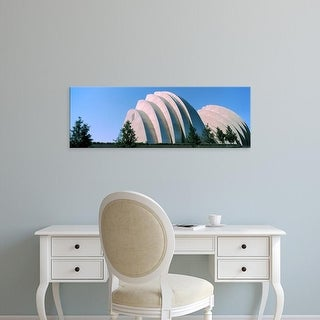 Easy Art Prints Panoramic Image 'Kauffman Center for the Performing Arts, Kansas City, Missouri, USA' Canvas Art