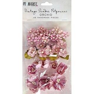 Orchid - 49 And Market Vintage Shades Potpourri 49/Pkg