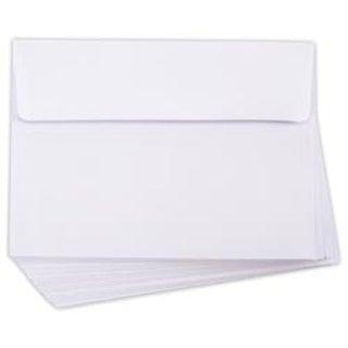 "White - Heavyweight A7 Envelopers (5.25""X7.25"") 50/Pkg"