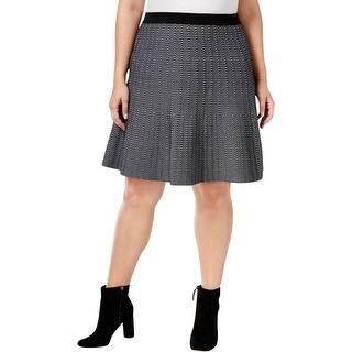 Rachel Rachel Roy Womens Plus Flare Skirt Pattern Elastic https://ak1.ostkcdn.com/images/products/is/images/direct/d85f614c423047f57d950e0dedc84a48d3c390f4/Rachel-Rachel-Roy-Womens-Plus-Flare-Skirt-Pattern-Elastic.jpg?impolicy=medium