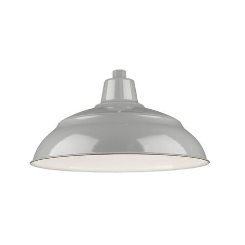 "Millennium Lighting RWHS17 R Series 1 Light 17"" Wide Outdoor Warehouse Shade -"